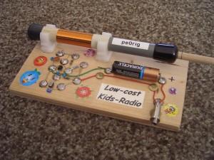 Low-Cost Kids-AM-Radio foto