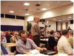 Commissies/Werkgroepen vergaderen