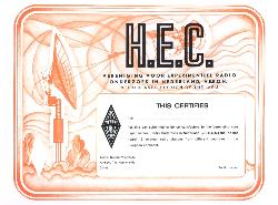 HEC - Heard European Countries Award (SWL Awards)