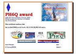 PH6Q award