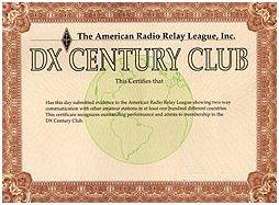 DXCC certificaat eventueel te behalen met behulp van DX-Cluster assistentie