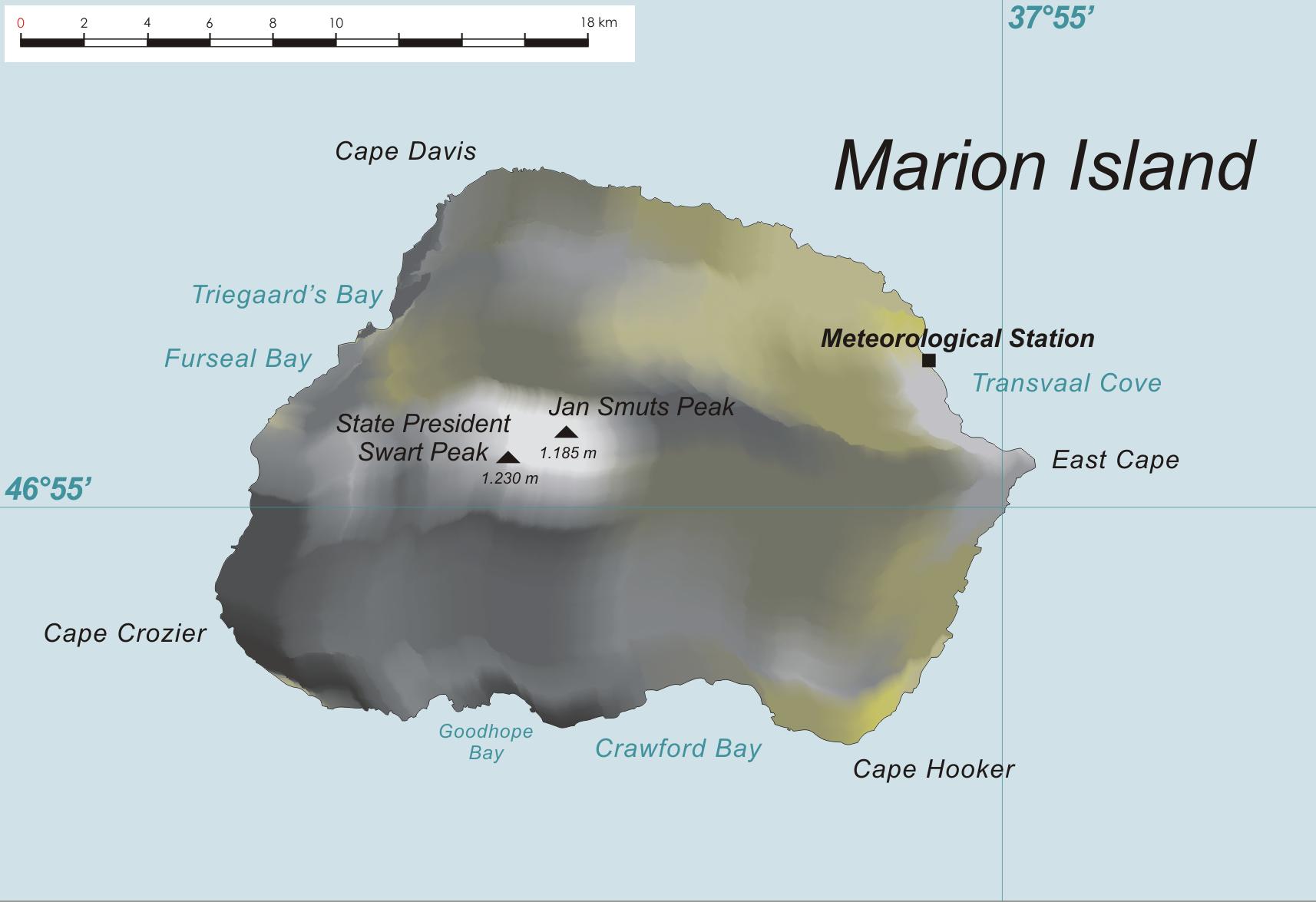 Marion Island (AF-021) DXpeditie