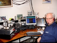 Een shack voor VHF-UHF-SHF contests