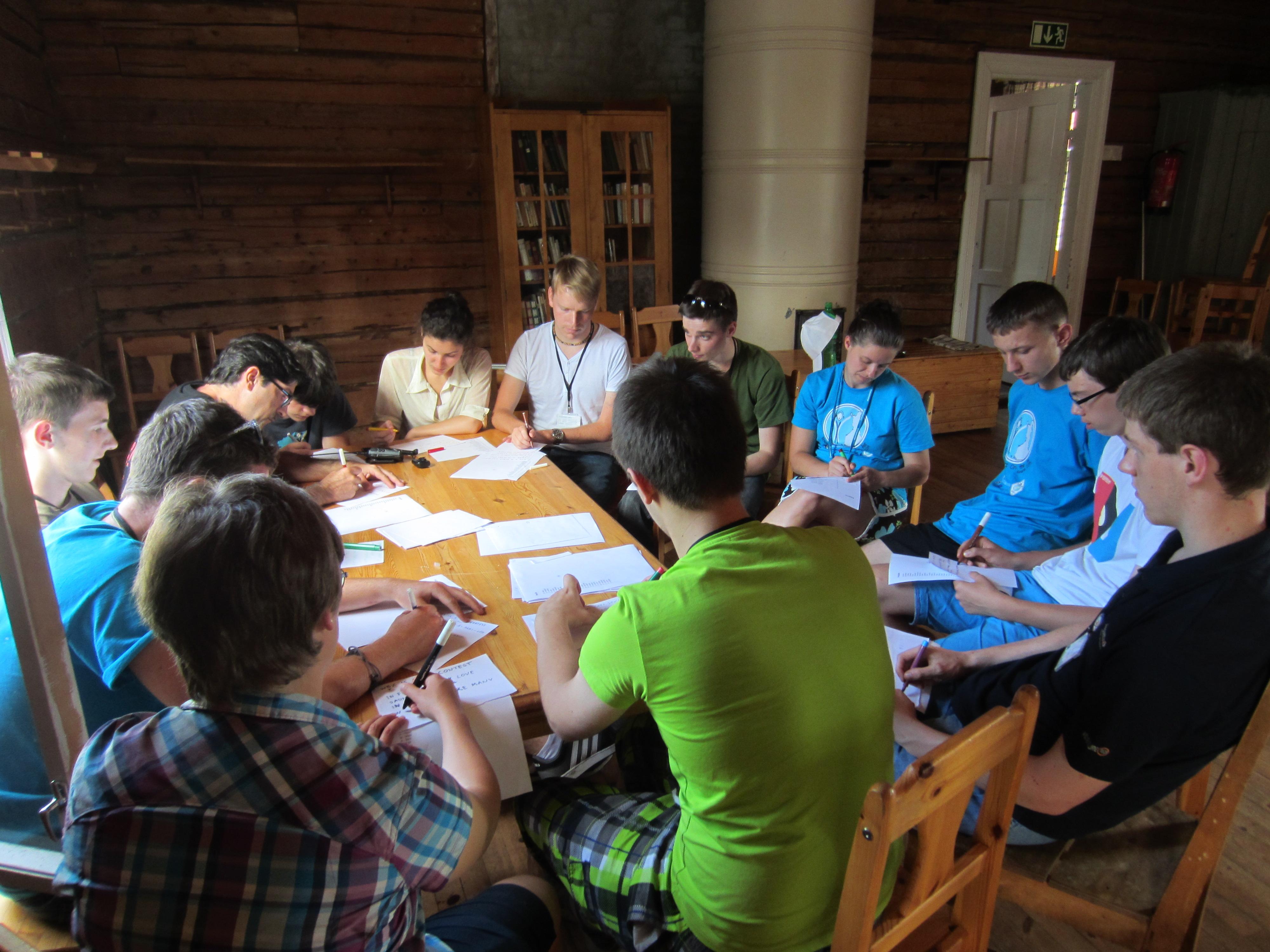 Een van de workshops georganiseerd door Edwin PA3GVQ.