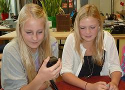 De radio hobby is ook voor meisjes