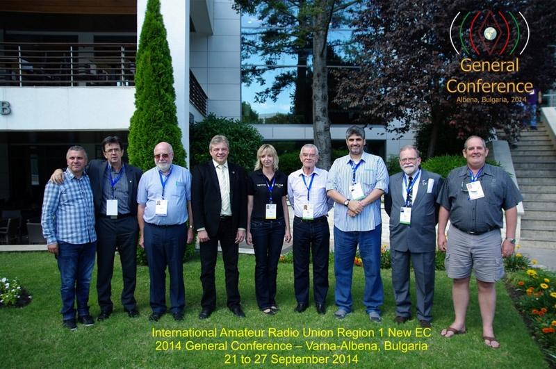 Het nieuwe IARU-R1 Executive Committee