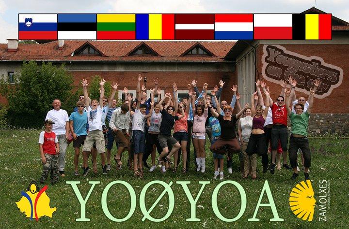 YO0YOA QSL-kaart