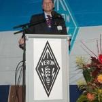 De openingstoespraak van de algemeen voorzitter van de VERON, Remy Denker (PA3AGF)