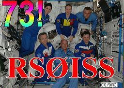 Ruimte Station ISS SSTV plaatjes