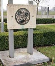 Het monument voor de in WO-II gevallen radioamateurs