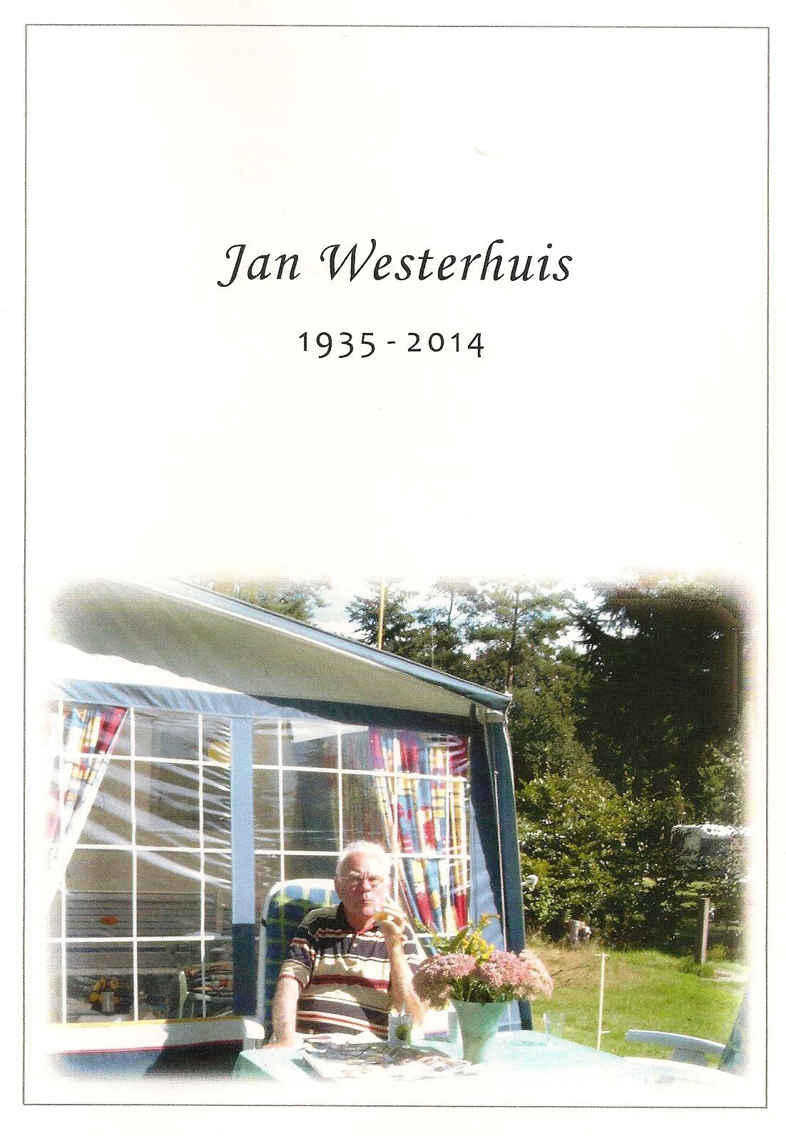 OM Jan Westerhuis (PA3AJF), Silent Key