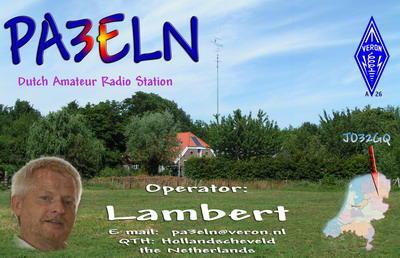 OM Lambert ten Caat (PA3ELN), Silent Key