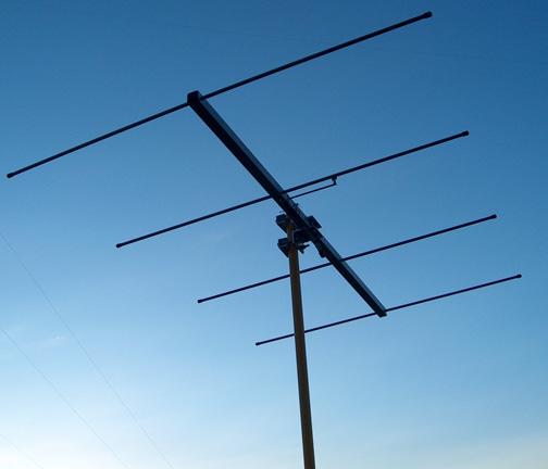 70 MHz yagi