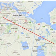 HAMNET Linkafstand Amsterdam West Site to NOS site 28,6km