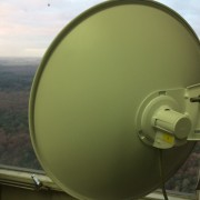 HAMNET Powerbeam M5-400 Antenna 25dBi op de NOS site