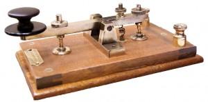 Sleutel voor morsecode - Morsecode 175 jaar
