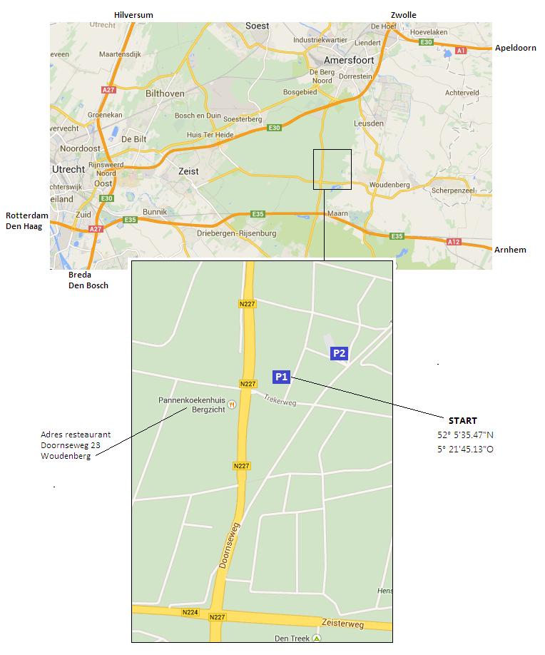 Radio Vossenjacht Amersfoort - 80m kruispeiling