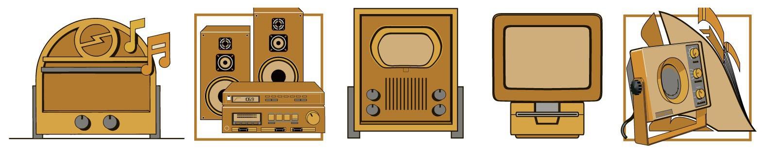 """Thematentoonstelling """"70 jaar bevrijding"""" met radio en zendapparatuur in het Rotterdams Radio Museum"""