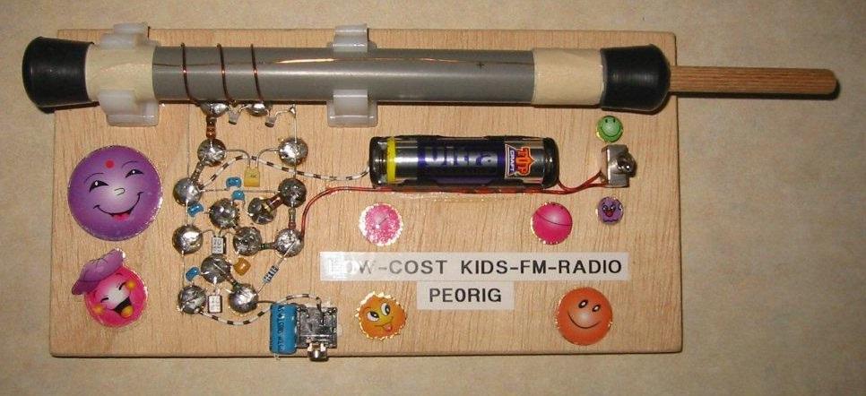 Low-Cost Kids-FM-Radio Afbeelding