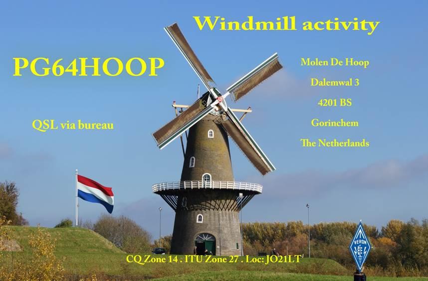 Windmolendagen bij VERON afdeling Gorinchem: PG64HOOP