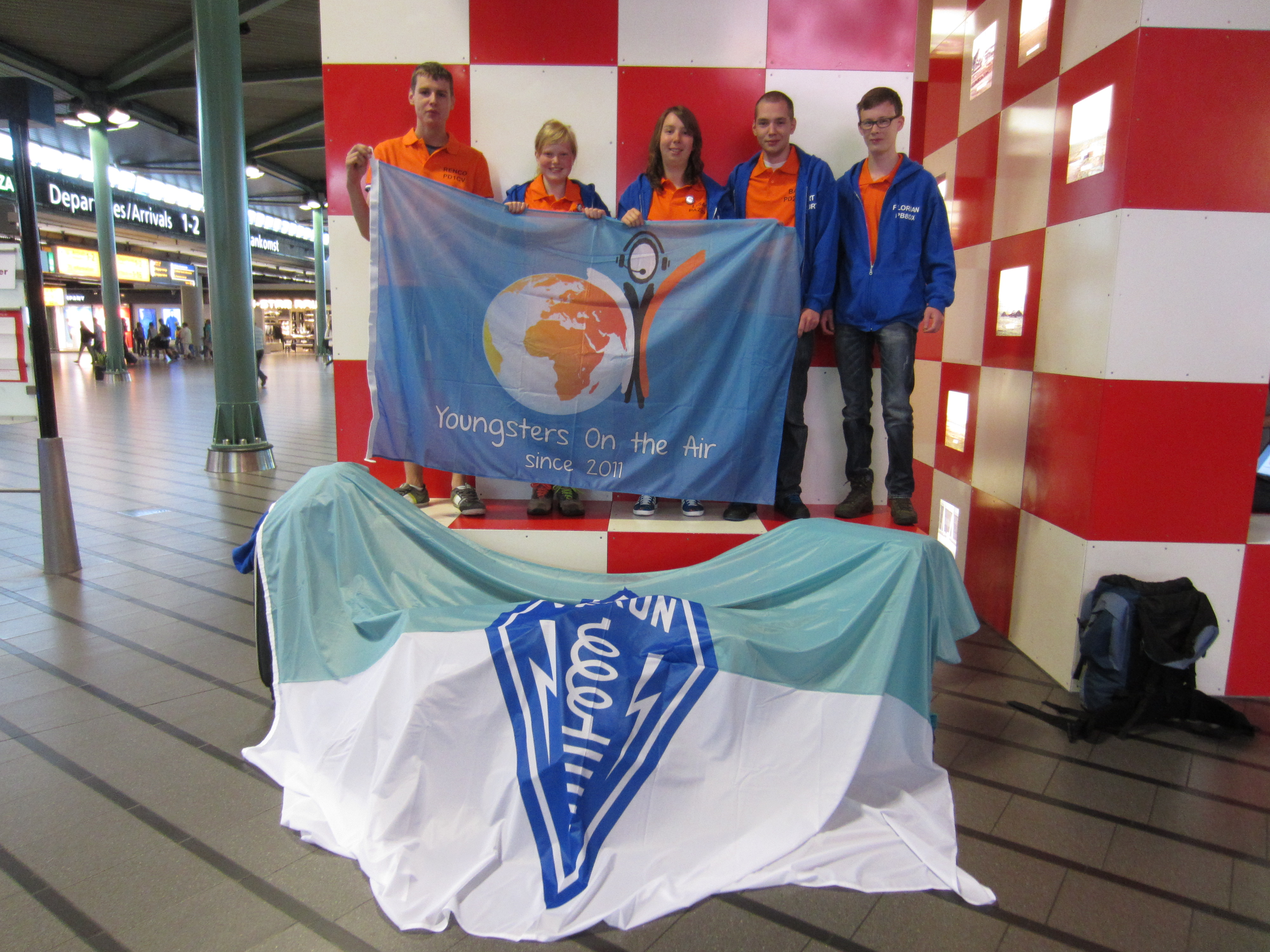 Het Nederlandse YOTA Finland team