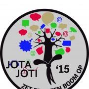 Logo jota-joti 2015 'zet eens een boom op'