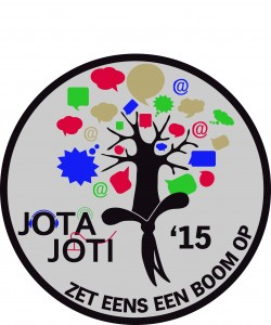 JOTA JOTI badge 2015 Scouting NL