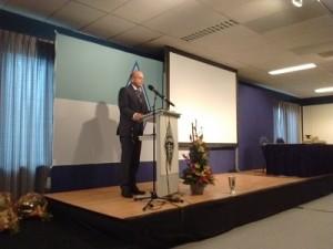 Speech algemeen voorzitter Remy Denker PA3AGF op de 55e dag van de RadioAmateur