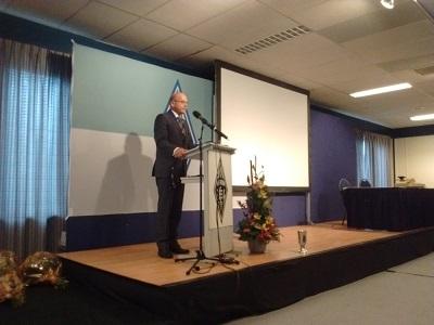Toespraak door algemeen voorzitter Remy Denker PA3AGF op de 55e dag van de RadioAmateur
