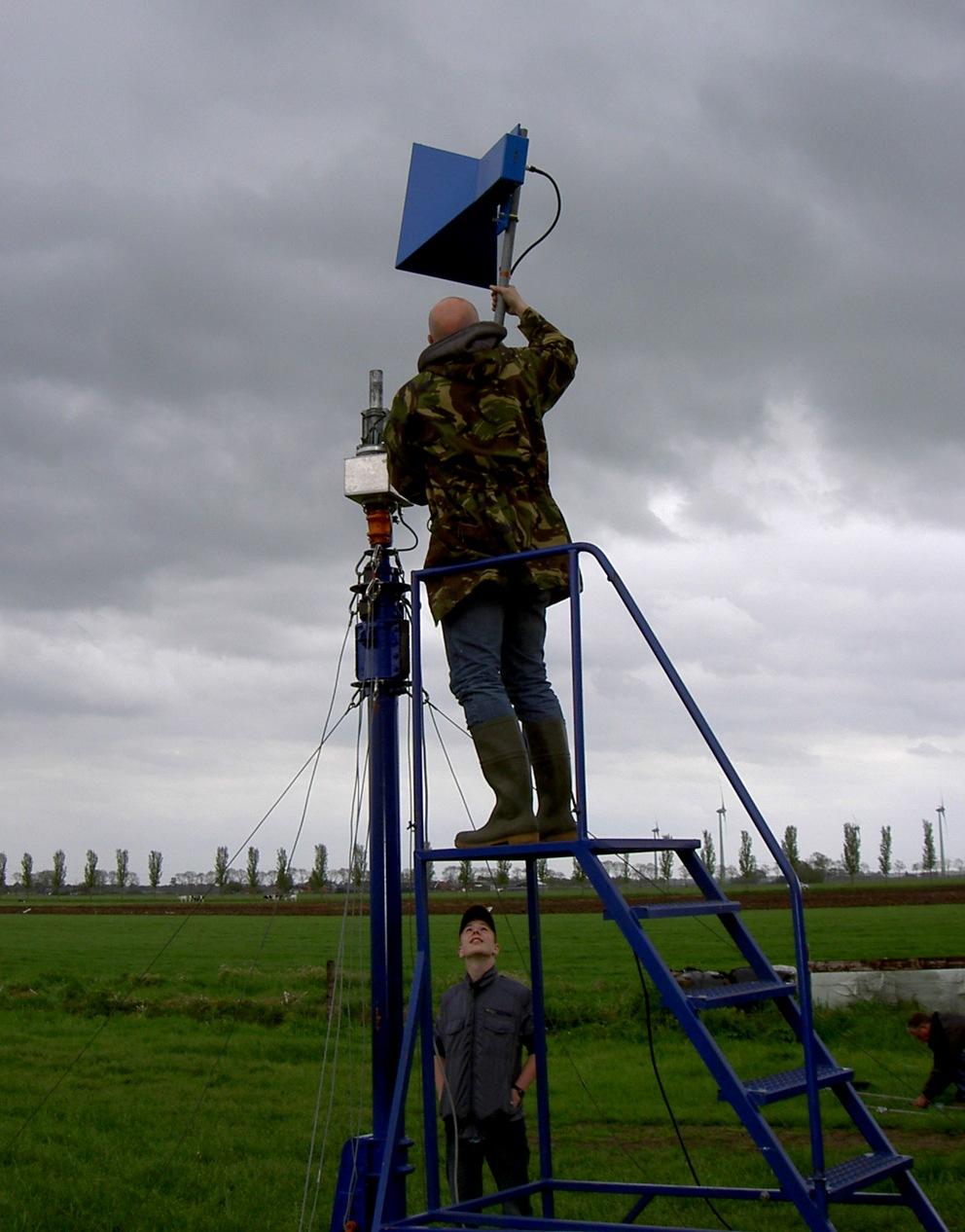Vooraankondiging van het antennemeten bij VERON afdeling Meppel