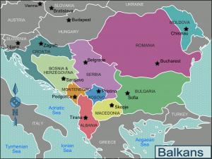 De Balkan-regio