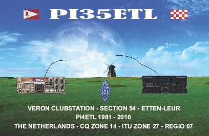 PI35ETL - 35 jaar VERON afdeling Etten-Leur