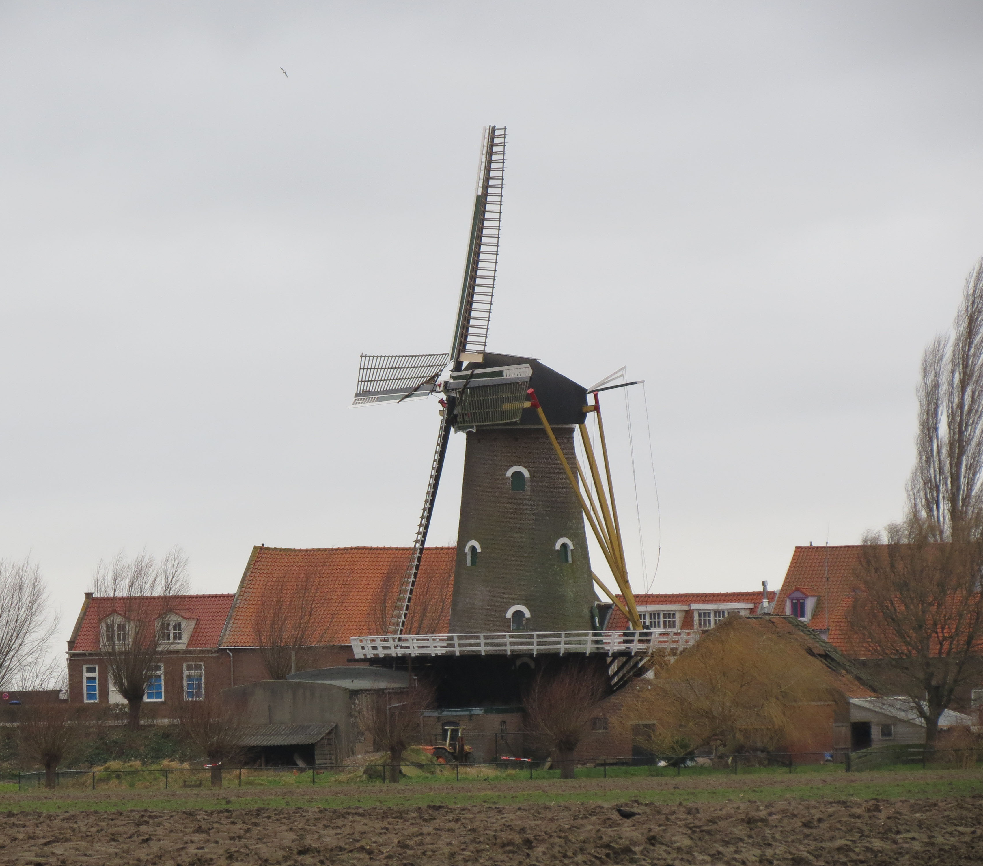 VERON Etten-Leur actief tijdens nationaal molenweekend