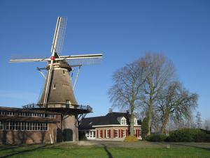 """Molen """"De Hoop, Oldebroek Gelderland"""" PA6HOOP"""