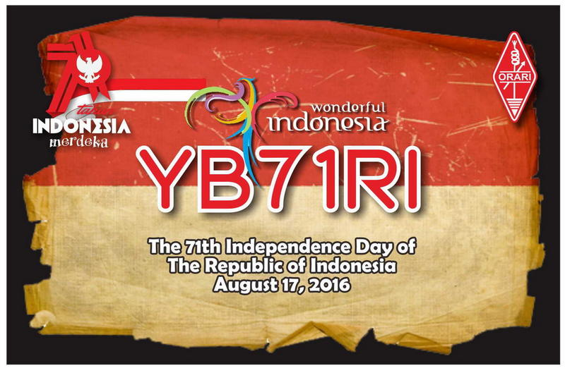 YB71RI eert 71e onafhankelijkheidsdag Republiek Indonesië