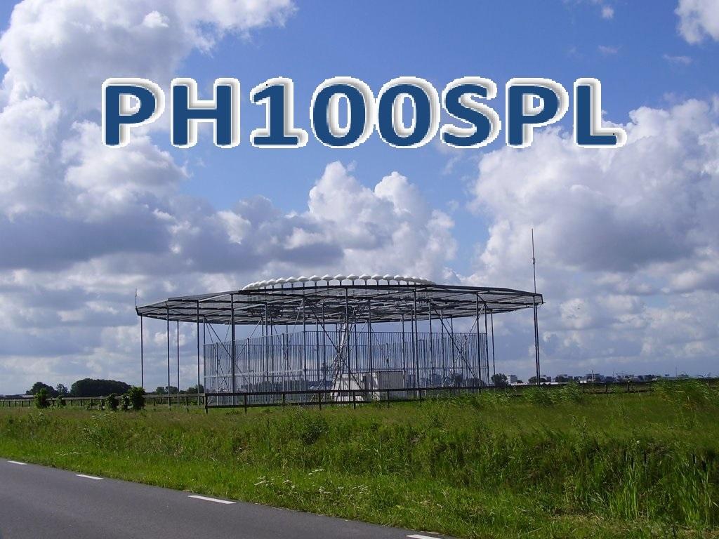 PH100SPL - Luchthaven Schiphol Amsterdam 100 jaar