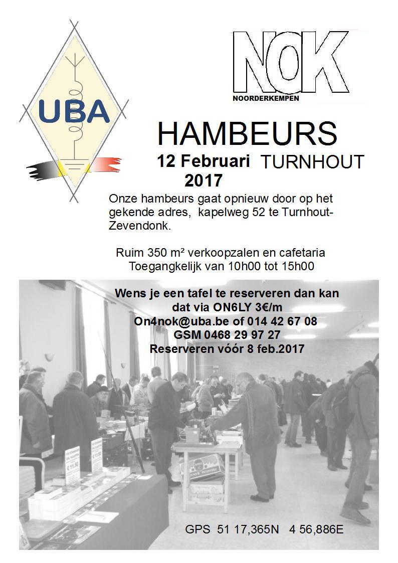 UBA/NOK Hambeurs in Turnhout