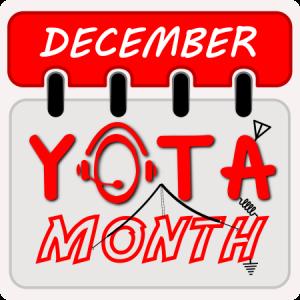 December komt er weer aan en december is YOTA maand!