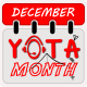 December Yota maand
