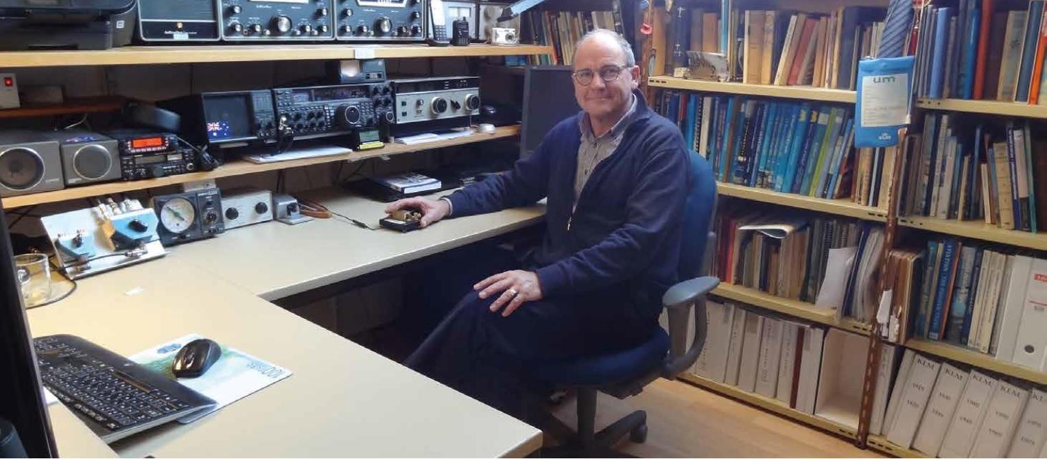 """Interview met Remy Denker, voorzitter van radioamateurvereniging VERON in """"Verbinding"""" van december 2016:"""