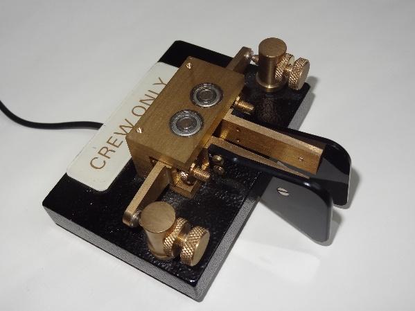 Een mooi voorbeeld van een Morsecode seinsleutel