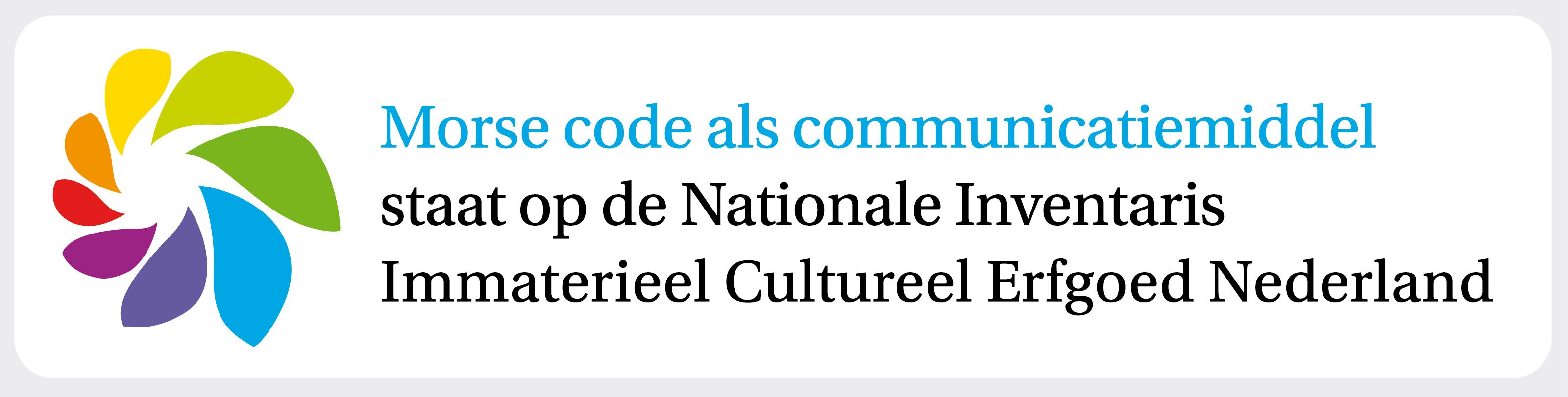 Dankzij de inspanningen van de VERON staat morse code op de Nationale Inventaris Immaterieel Cultureel Erfgoed.