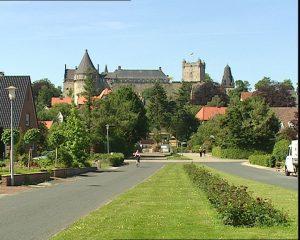 Kasteel van Bad Bentheim is een bezoekje waard als je toch op de DNAT bent