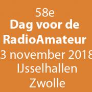 Dag van de RadioAmateur - DvdRA - 2018