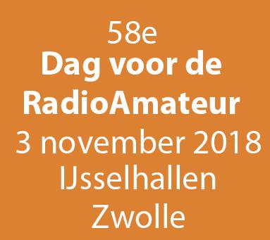 Lay-outvan de Nederlandse Dag voor de RadioAmateur in Zwolle