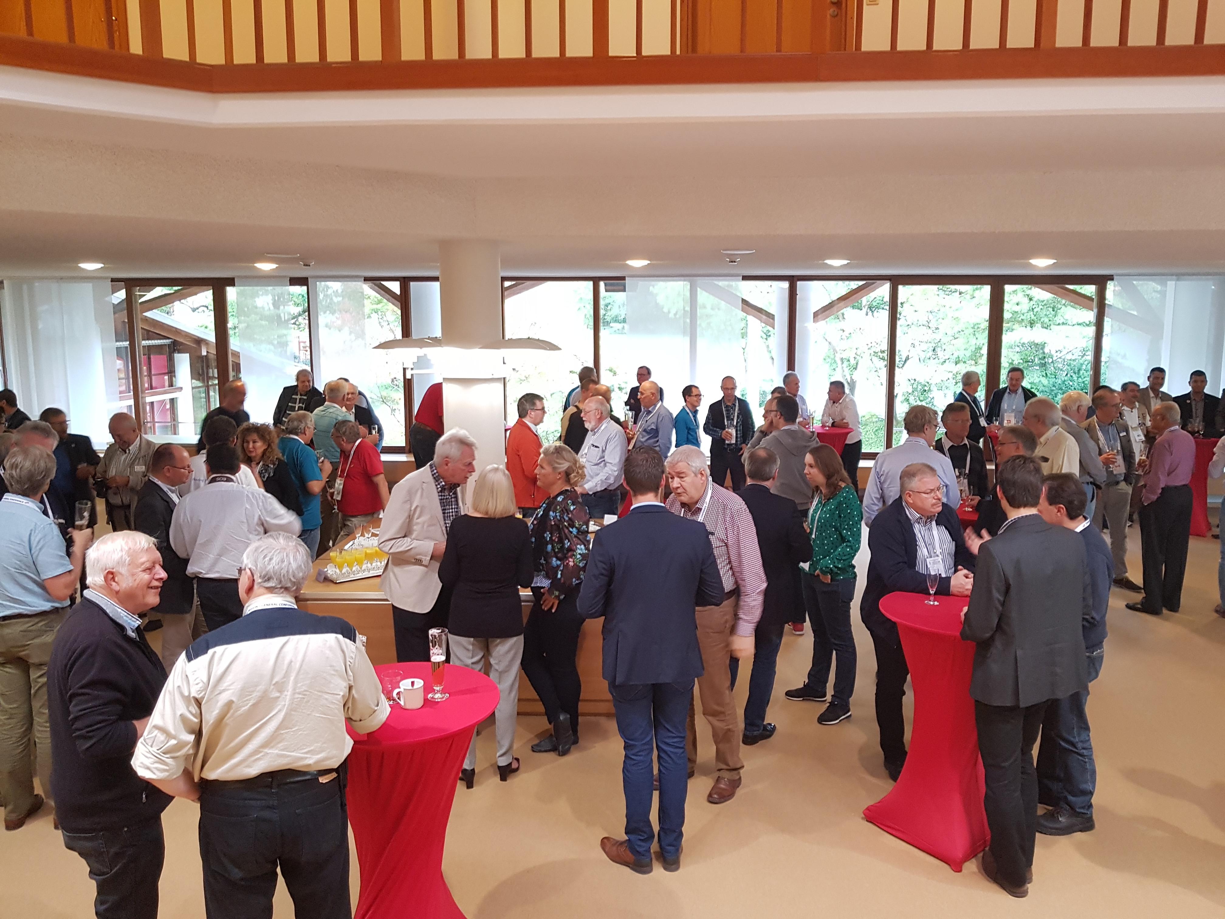 Verslaggeving vanaf de IARU-R1 General Conference Landshut