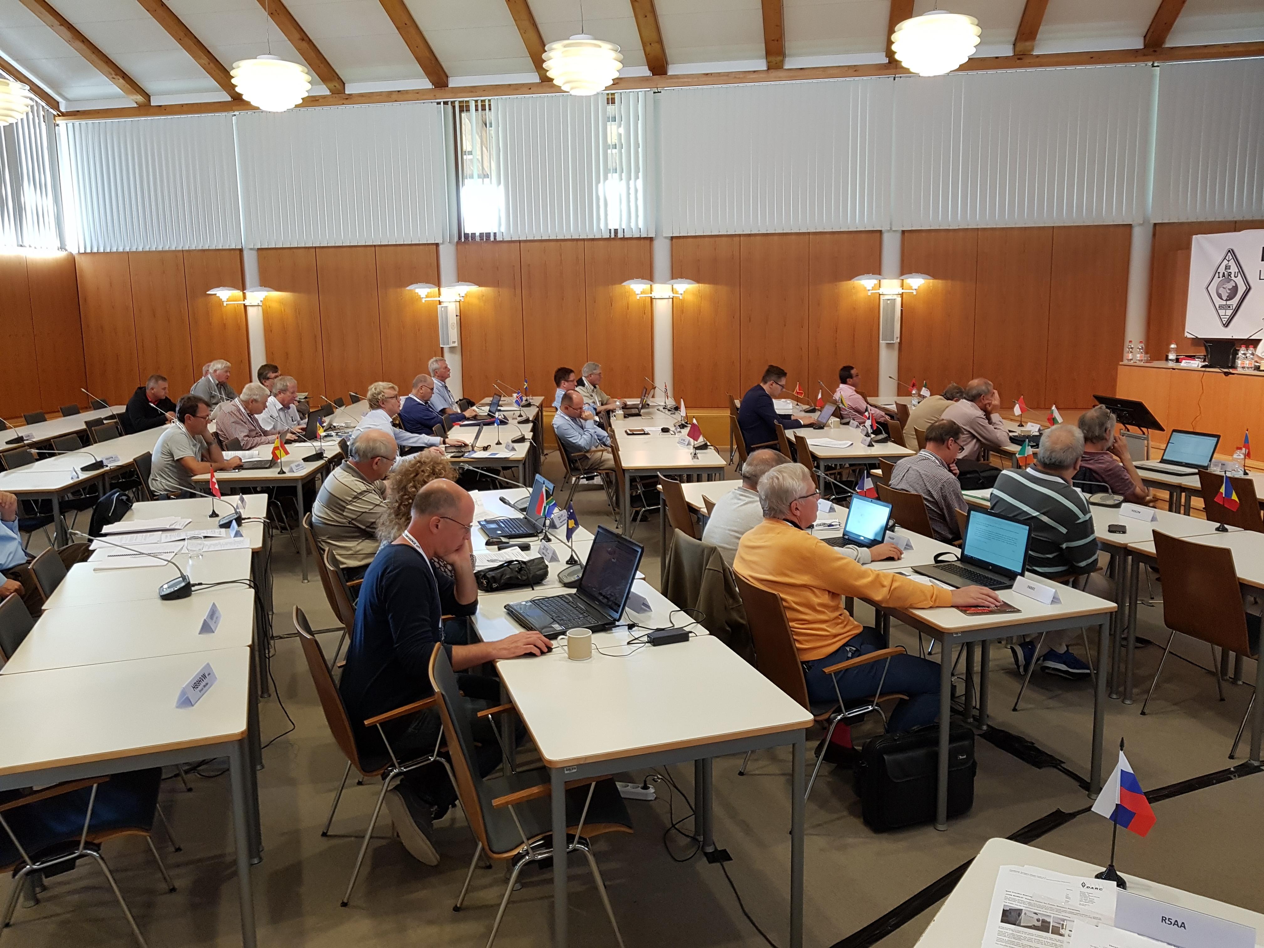 IARU-R1 Landshut: verslag van maandag