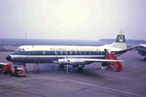 EI50AOM: Aer Lingus Viscount passagiersvliegtuig