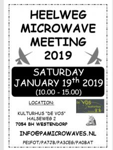 Heelweg Microwave 2019