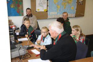 Scouts in verbinding met Exloo PD0NBE/J